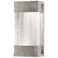 Fine Art Lamps Crystal Bakehouse 2 Light Sconce in Silver Leaf with Polished Block of Crystal Shards 810850-33ST