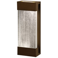 Crystal Bakehouse 2 Light 7 inch Bronze Sconce Wall Light