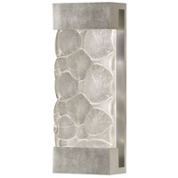 Crystal Bakehouse 2 Light 7 inch Silver Leaf Sconce Wall Light