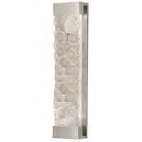 Crystal Bakehouse 2 Light 7 inch Silver Sconce Wall Light