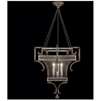 Villa Vista 6 Light 32 inch Hand Painted Driftwood Lantern Ceiling Light