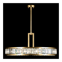 Fine Art Lamps 812040-2ST Crystal Enchantment 8 Light 37 inch Gold Pendant Ceiling Light