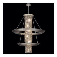 Celestial 15 Light 39 inch Silver Leaf Pendant Ceiling Light