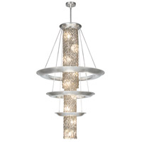 Fine Art Lamps Celestial 21 Light Pendant in Silver Leaf 813340ST