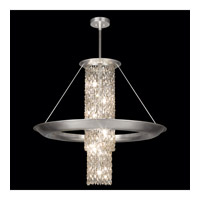 Celestial 12 Light 39 inch Silver Leaf Pendant Ceiling Light