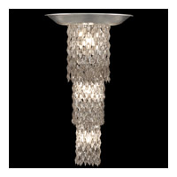 Celestial 5 Light 17 inch Silver Leaf Sconce Wall Light
