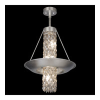 Celestial 6 Light 17 inch Silver Leaf Pendant Ceiling Light