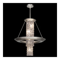 Fine Art Lamps Celestial 7 Light Pendant in Silver Leaf 813740ST