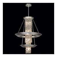 Fine Art Lamps Celestial 10 Light Pendant in Silver Leaf 813840ST