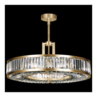 Fine Art Lamps 815840-2ST Crystal Enchantment 6 Light 29 inch Gold Pendant Ceiling Light