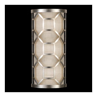 Fine Art Lamps Allegretto 1 Light Sconce in Silver 816750GU