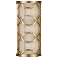 Allegretto Gold 2 Light 8 inch Gold Sconce Wall Light