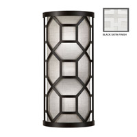 Fine Art Lamps Black + White Story 2 Light Sconce in Studio White Satin Lacquer 816850-5GU