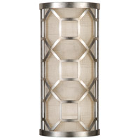 Fine Art Lamps 816850GU Allegretto Silver 2 Light 8 inch Silver Sconce Wall Light