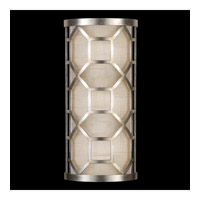 Allegretto 2 Light 8 inch Silver Wall Sconce Wall Light