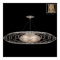 Fine Art Lamps Allegretto 3 Light Pendant in Gold 816940-2ST