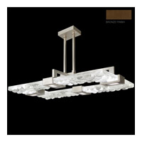 Crystal Bakehouse 4 Light 50 inch Bronze Pendant Ceiling Light