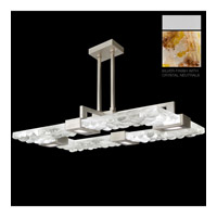 Crystal Bakehouse 4 Light 50 inch Silver Pendant Ceiling Light