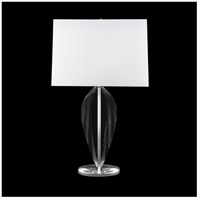 Fine Art Lamps 821210ST Crystal Lamps 32 inch 100 watt Silver Table Lamp Portable Light
