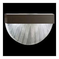 Fine Art Lamps Crystal Bakehouse 2 Light Sconce in Bronze with Polished Block of Crystal Shards 824550-13ST