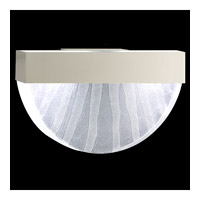 Fine Art Lamps Crystal Bakehouse 2 Light Sconce in Silver with Polished Block of Crystal Shards 824550-23ST