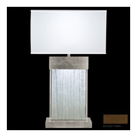 Fine Art Lamps Crystal Bakehouse 2 Light Table Lamp in Bronze with Polished Block of Crystal Shards 824810-13ST
