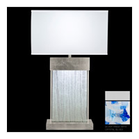 Fine Art Lamps Crystal Bakehouse 2 Light Table Lamp in Silver with Polished Block of Cobalt & Aqua Crystal Shards 824810-22ST photo thumbnail