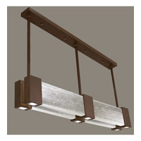 Fine Art Lamps Crystal Bakehouse 6 Light Pendant in Bronze with Polished Block of Crystal Shards 825040-13ST