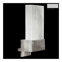 Fine Art Lamps Crystal Bakehouse 1 Light Sconce in Silver with Polished Block of Crystal Shards 825250-23ST