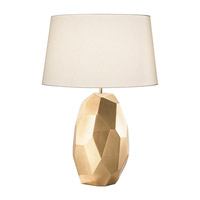 Fine Art Lamps Recollections 1 Light Table Lamp in Gold Leaf 825910-2ST