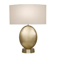 Fine Art Lamps Grosvenor Square 1 Light Table Lamp in Antique Brass 826010-2ST