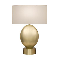 Grosvenor Square 31 inch 100 watt Antique Brass Table Lamp Portable Light