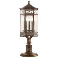 Fine Art Lamps 836980ST Holland Park 3 Light 32 inch Warm Antique Bronze Adjustable Pier and Post Mount