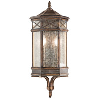 Fine Art Lamps Holland Park 2 Light Outdoor Wall Sconce in Warm Antique Bronze 838081ST