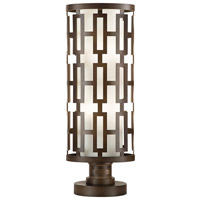 River Oaks 4 Light 28 inch Dark Bronze Adjustable Pier and Post Mount