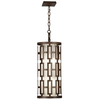 Fine Art Lamps River Oaks 4 Light Outdoor Hanging Lantern in Dark Bronze 839082ST