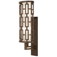 River Oaks 2 Light 22 inch Dark Bronze Outdoor Wall Mount
