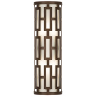 Fine Art Lamps River Oaks 2 Light Outdoor Wall Sconce in Dark Bronze 840081ST