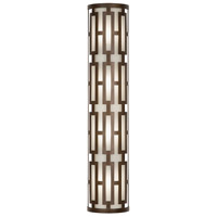 Fine Art Lamps River Oaks 4 Light Outdoor Wall Sconce in Dark Bronze 840181ST