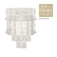 Fine Art Lamps Constructivism 1 Light Wall Sconce in Gold Leaf 840450-2ST