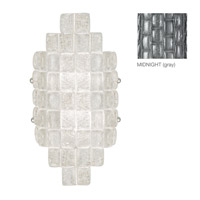 Fine Art Lamps Constructivism 2 Light Wall Sconce in Silver Leaf 840650-1ST