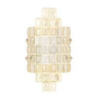 Fine Art Lamps Constructivism 2 Light Wall Sconce in Gold Leaf 840650-2ST