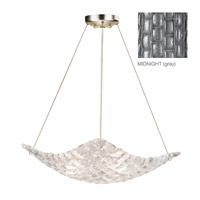 Fine Art Lamps Constructivism 3 Light Pendant in Silver Leaf 841040-1ST