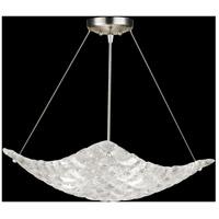 Fine Art Lamps 841040ST Constructivism 3 Light 22 inch Silver Pendant Ceiling Light