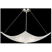 Constructivism 3 Light 32 inch Silver Leaf Pendant Ceiling Light
