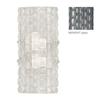 Fine Art Lamps Constructivism 2 Light Wall Sconce in Silver Leaf 842250-1ST