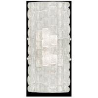 Fine Art Lamps 842250ST Constructivism 2 Light 7 inch Silver ADA Sconce Wall Light