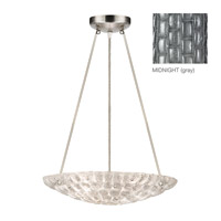 Fine Art Lamps Constructivism 3 Light Pendant in Silver Leaf 842840-1ST