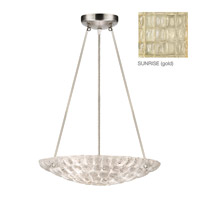 Fine Art Lamps Constructivism 3 Light Pendant in Gold Leaf 842840-2ST