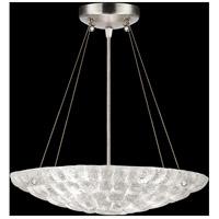 Fine Art Lamps 842840ST Constructivism 3 Light 16 inch Silver Leaf Pendant Ceiling Light